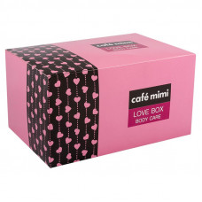 Подарочный набор   Love Box Body care   Cafe mimi