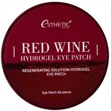 Гидрогелевые патчи   КРАСНОЕ ВИНО   Red Wine Hydrogel Eye Patch   Esthetic House