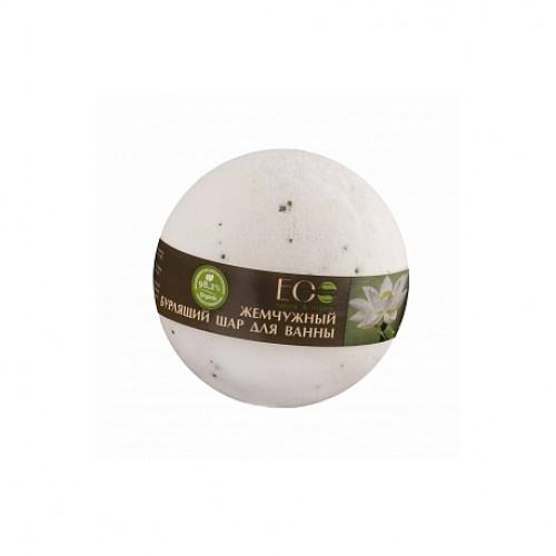 Бурлящий шар для ванны  БЕЛЫЙ ЛОТОС И ПАЛЬМРОЗА  EcoLab220 гр