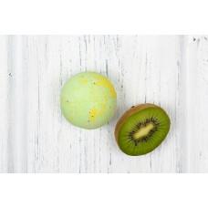 Бурлящий шарик для ванны  ФРУКТОВЫЙ СОРБЕТ  экстракт киви, экстракт папайи  120g Кафе Красоты