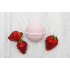 Бурлящий шарик для ванны  КЛУБНИЧНЫЙ СОРБЕТ  клубника, масло виноградной косточки  120g Кафе Красоты