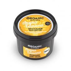Крем для рук  АКУНА БАНАНА  питательный, серия Organic Kitchen  100ml, Organic Shop