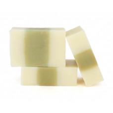 Натуральное мыло ручной работы  БАННОЕ ЭВКАЛИПТ  для жирной и проблемной кожи, антисептическое, противовоспалительное, ранозаживляющее  100g СпивакЪ